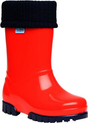 Term Welly with Sock - Red