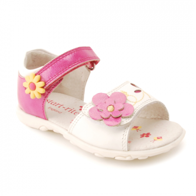 Start-rite Buzzy Bee -  White/Pink