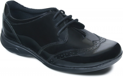 Term Summer Lace Up -  Black Patent
