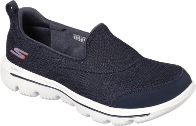 Skechers Go Walk Evolution Ultra Reach -  Navy/White