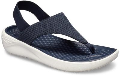 Crocs LiteRide Mesh Flip On W -  Navy/White