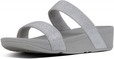 FitFlop Lottie Glitzy Slide -  Silver