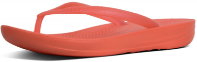 FitFlop IQushion Pearlised -  Hot Coral