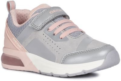 Geox J Spaceclub Girl C J948VC - C0502 Grey/Pink