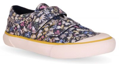 Start-Rite Meadow - Navy Floral Canvas