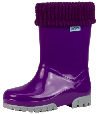 Term Welly with Sock -  Purple